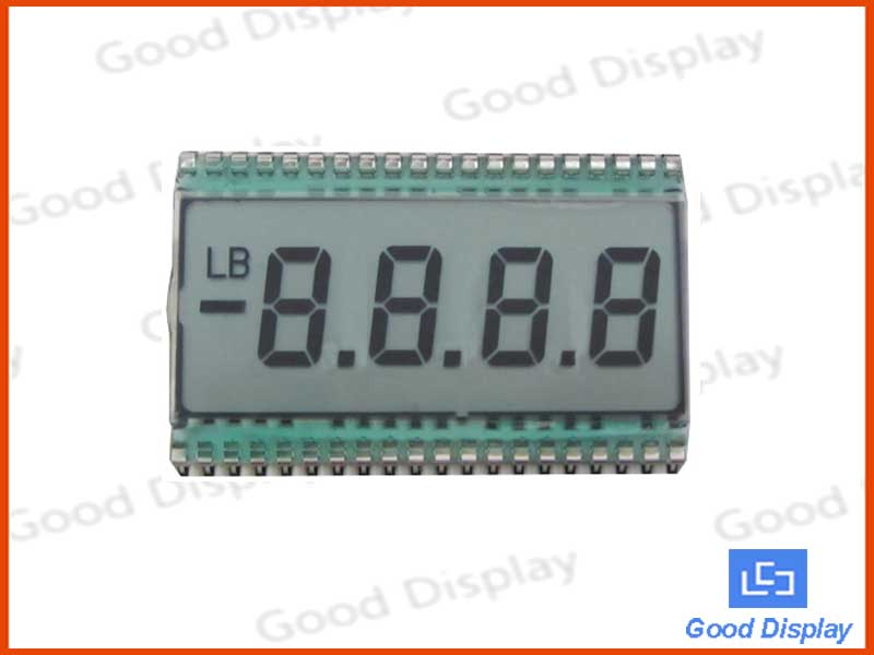 4 Digits LCD screen, EDS805