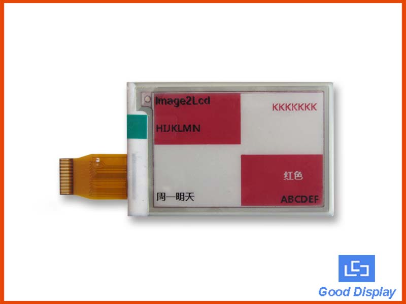 2.7 inch color e-paper display three color electronic paper screen GDEW027C44