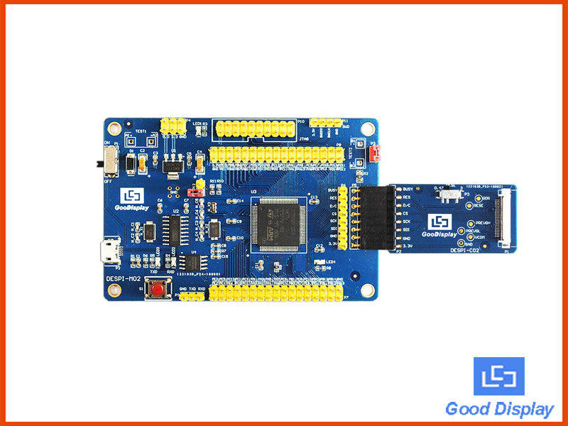 E-paper display development kit with SPI interface and Micro USB interface