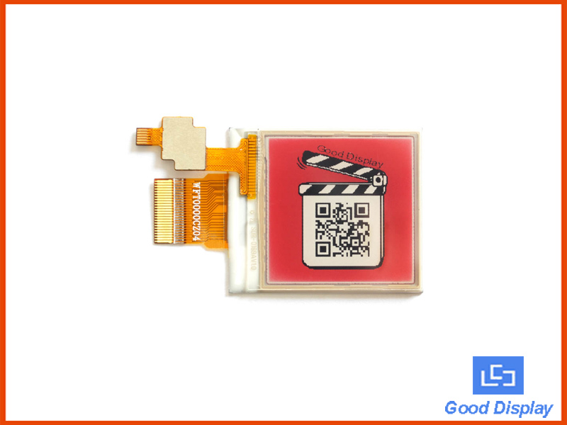 1.54 inch e-paper display module with touch screen color red display panel GDEW0154Z04-T