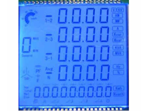LCD for Ammeter,