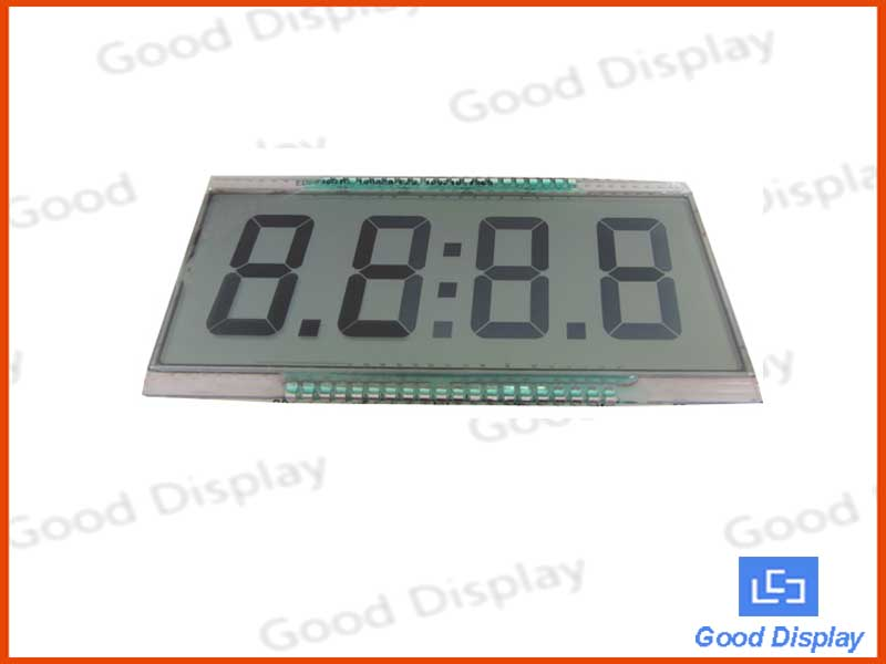 4 digit LCD display, EDS816