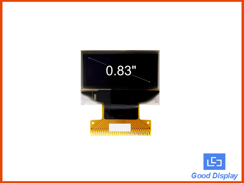 "0.83""Small OLED Display Manufacturers Display Module GDO083W"