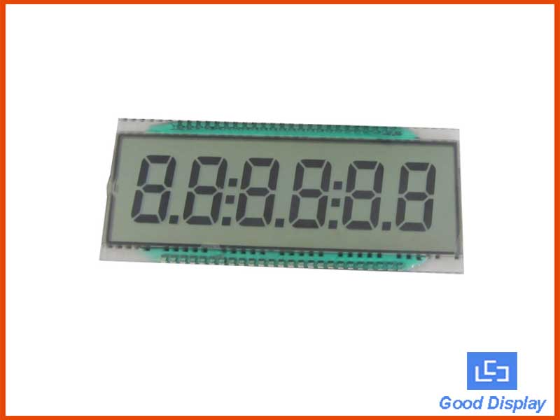 6 Digit LCD Panel, EDS810