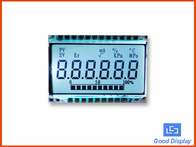 LCD for Air compressor, Low temp -40~80C Lcd Screen Panel, Custom LCD Manufacture GD46532