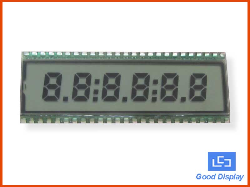 6 Digit LCD Panel, EDS818