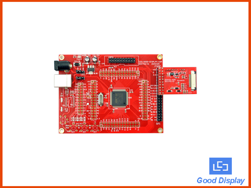 E-Paper display SMT32,  kit with SPI interface - DESTM32-S (Discontinued)