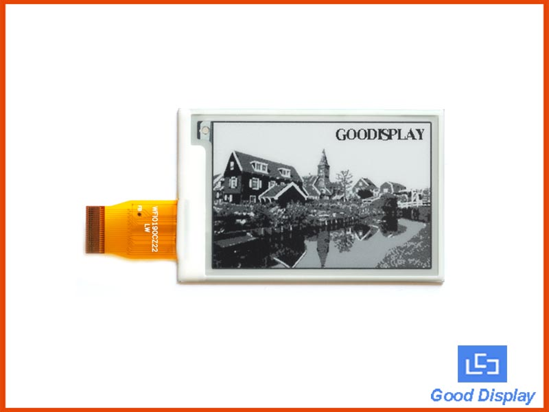 2.7 inch e-paper display small size 4 grayscale electronic paper display GDEW027W3
