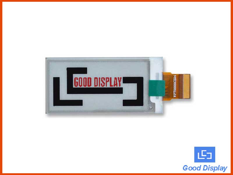 2.13 inch color e-paper display three-color low-power electronic paper screen GDEW0213Z16