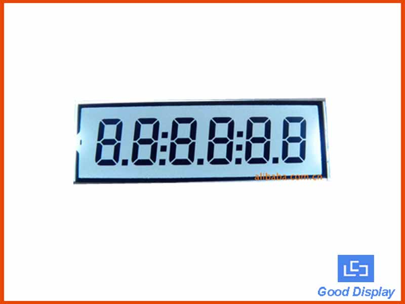 6 Digits LCD Panel EDS809