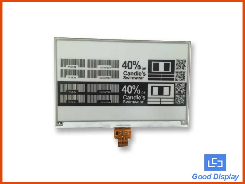 7.5 inch E-paper large display 640x384 SPI GDEW075T8