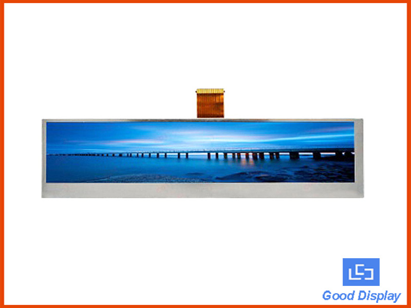 9.0 inch stretched bar TFT LCD panel GDS090DZA34KV