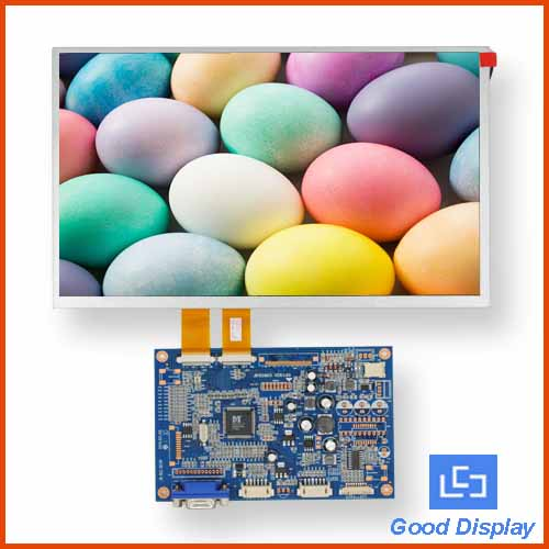 TFT LCD 10.2 inch  Display with A/D Board