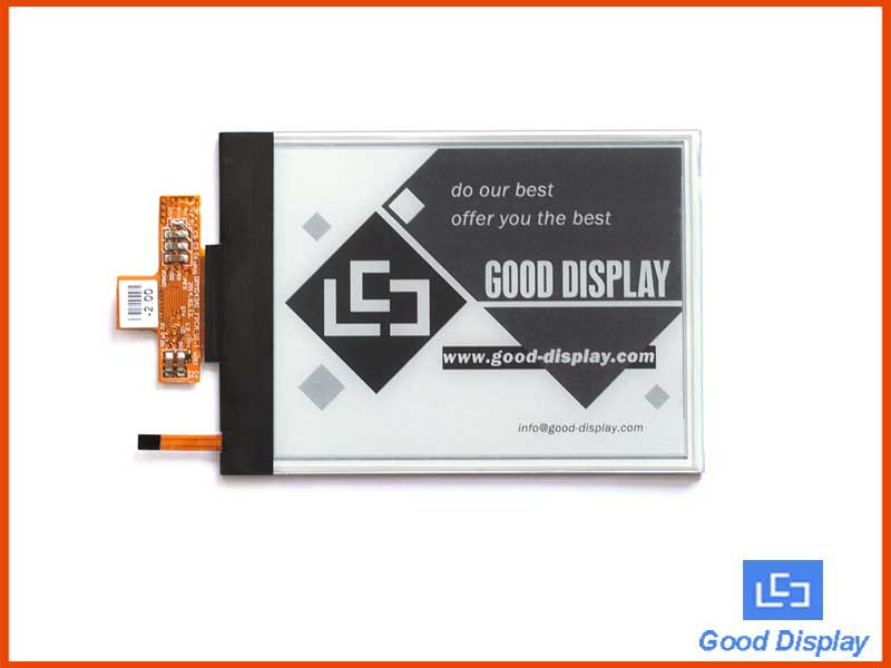 4.3 inch e-paper display parallel interface with frontlight partial refresh 800x600 GDE043A2-FL