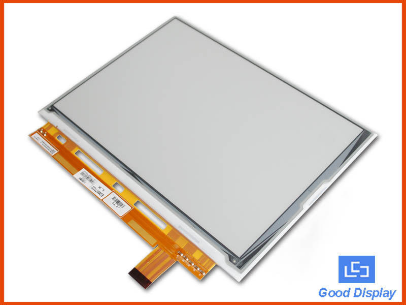 9.7inch Display Resolution 1200x825 big size e-paper display panel