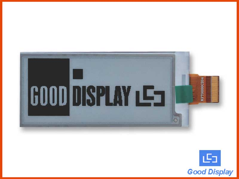 2.9-inch e-paper display black and white low-power electronic paper display GDEW029T5