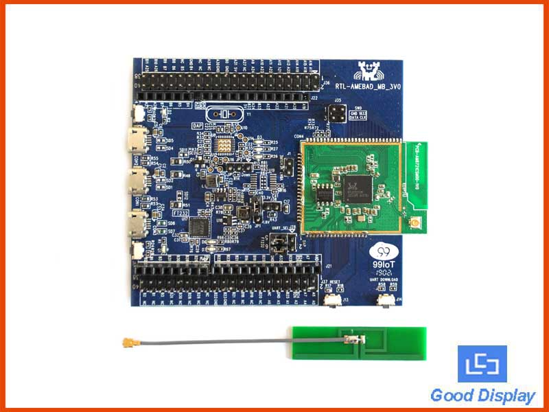 RTL8721CSM WiFi Bluetooth5.0, Realtek MCU Development Board RTL8721CSM-EVB