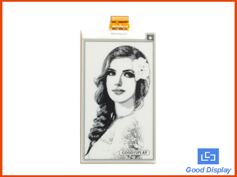3.71 inch e-paper display e-ink screen panel 4 grayscale GDEW0371W7