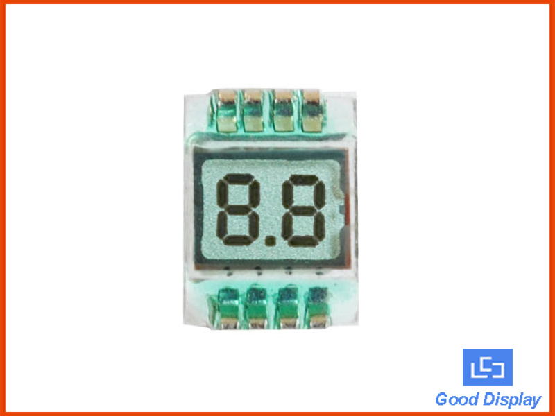 2 Digit Small Size LCD Panel Segment LCDs GDC02693