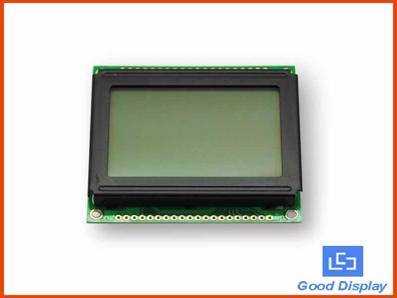 128x64 LCD display built-in heating plate