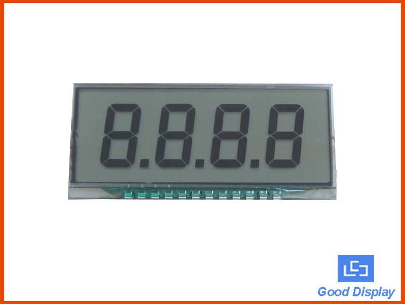 4 Digits LCD Panel