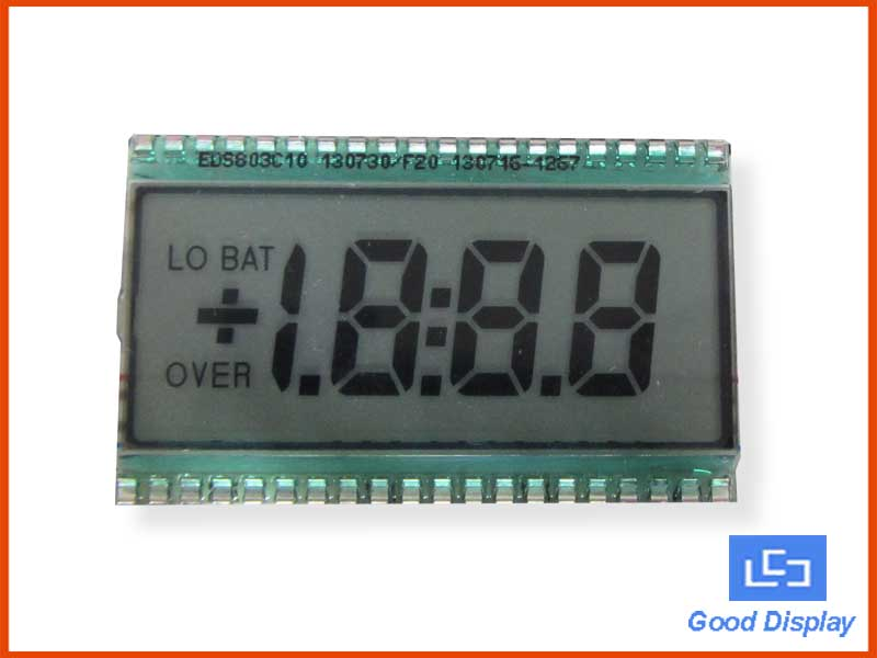 3-1/2 Digit LCD display, EDS803