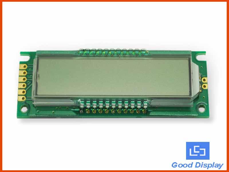 8-digit 7-Segment LCD Module GDM0103