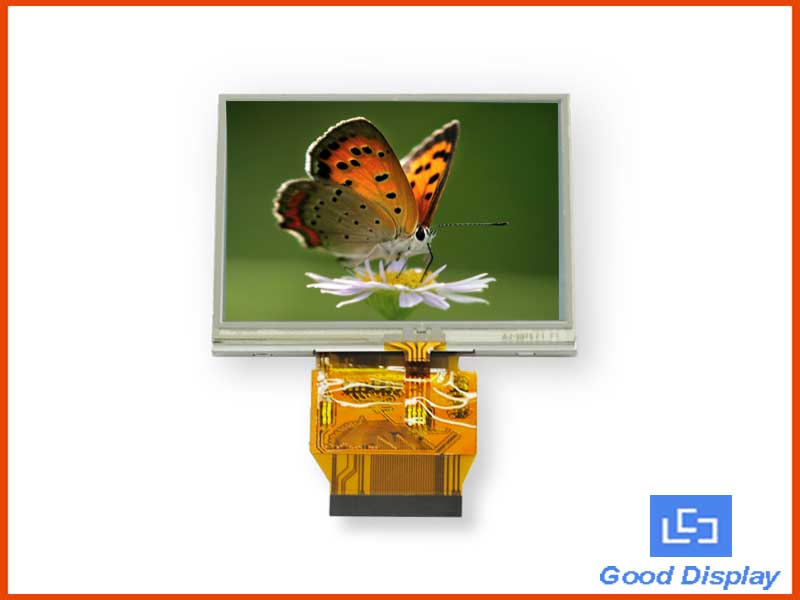"3.5"" lcd display with T/P - GTT035KBH02"