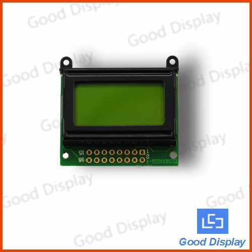 8x2 Character LCD display  YM0802A