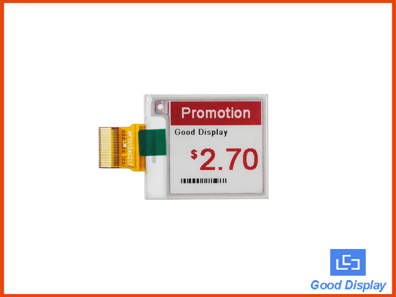1.54 inch 3-color e-paper display module GDEW0154Z17