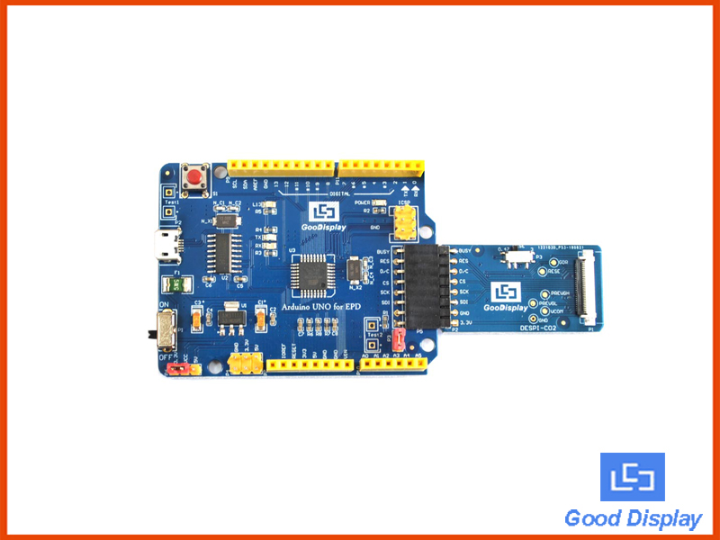 Arduino UNO for EPD e-paper display development board demo kit HAT for e-ink module DEArduino(C02)