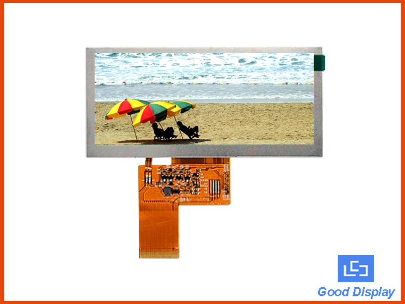 4.6 inch stretched bar TFT LCD panel with O-Flim full viewing angle GDS046TZY37KVR