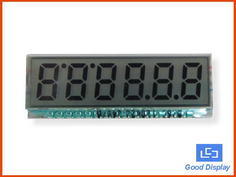 6-Digit LCD Panel, EDS826