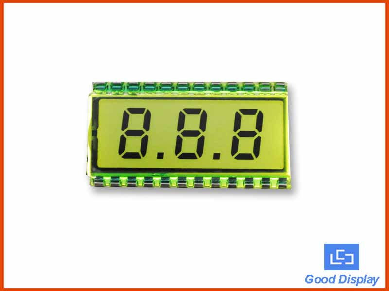 3 Digits LCD Display, EDS812